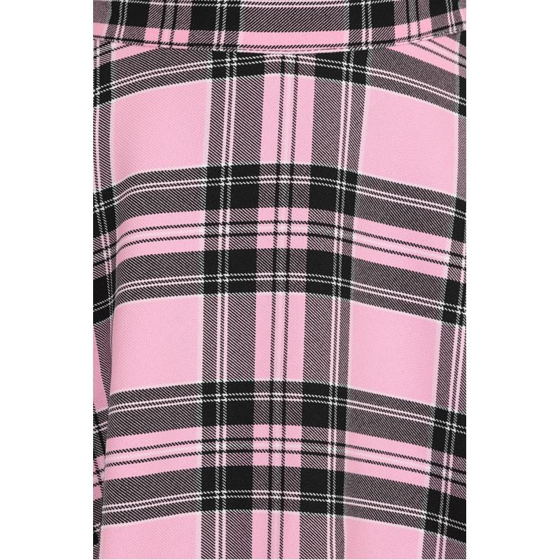 Hell Bunny Islay 50s Check Tartan Circular Skirt