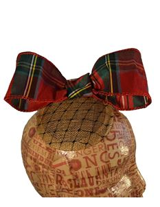 Doll's Mad Hattery Myrrh Maid - Christmas Cocktail Hat
