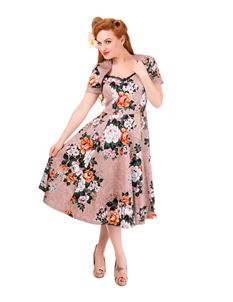 Banned Gracious Vintage Floral Bolero Style Dress
