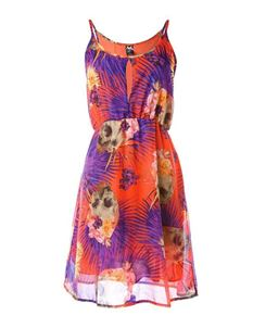 Iron Fist Reina Muerte Keyhole Summer Beach Dress Orange