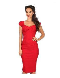 Stop Staring! Billion Dollar Baby Dress In Red