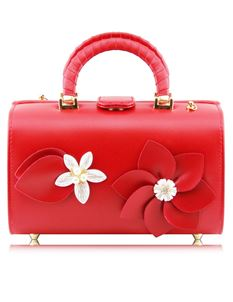 Red Anemone Floral Bag