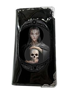 Anne Stokes 3D Lenticular Beyond The Veil Skull Purse