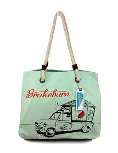 Brakeburn Vanette Ice Lolly Beach Bag Green