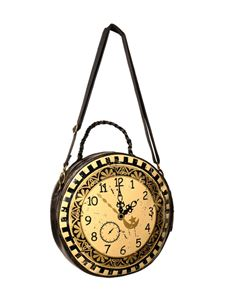 Banned Circular Clock Bag
