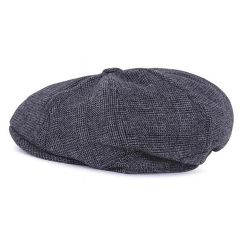 Collectif Tomas Baker Boy Charcoal Cap