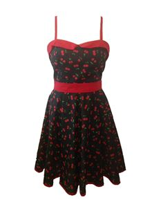 Primm Rose Clothing Cherry Pie Dress UK Size 16