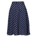 The Seamstress of Bloomsbury Circle Skirt - Various spots