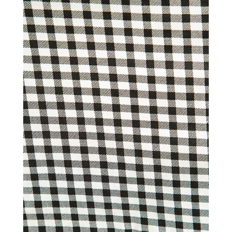 69d257b4337c2 Lindy Bop Pixie Gingham Pinafore Flared Swing Skirt