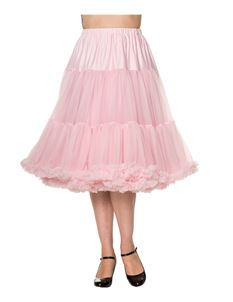 "Dancing Days Lifeforms 50s 25""-27"" Light Pink Petticoat"
