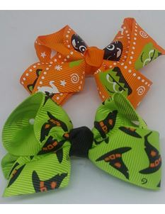 Said Lucy 2 Pack Of Halloween Bows