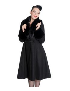 Hell Bunny Shonna Vintage Style Coat