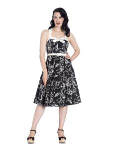 Hell Bunny Mistral Nautical Sailor 50s Style Dress