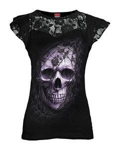 Spiral Direct Lace Skull Cap Alternative Top