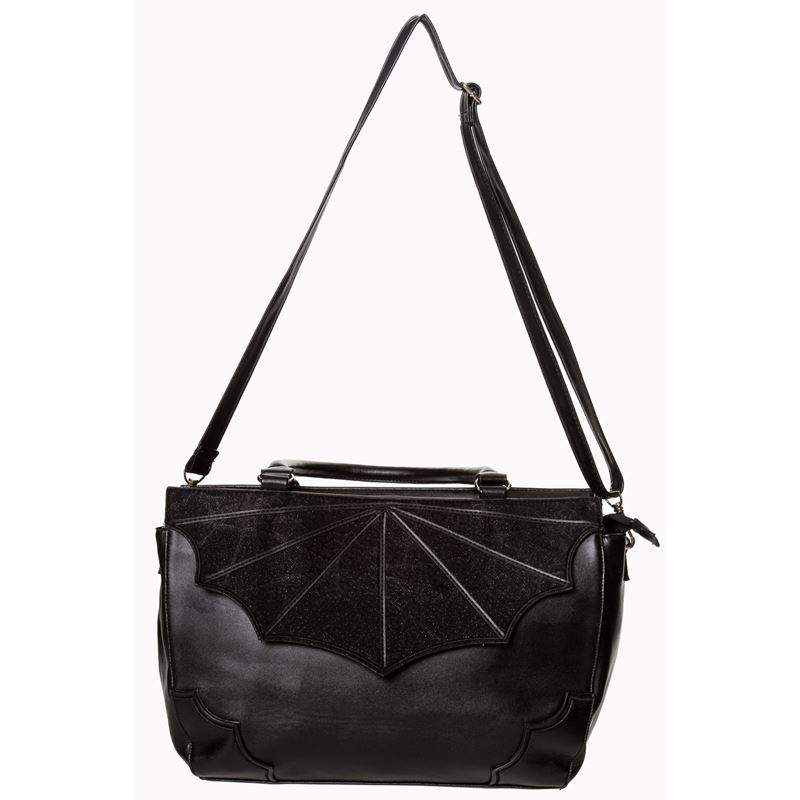 Banned Black Widow Bat Wing Alternative Bag