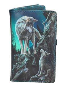 Nemesis Now Guidance Wolf Purse By Lisa Parker