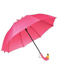 Guns N Posies Pink Flamingo Umbrella