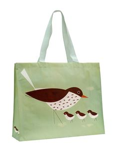 Magpie Birdy Thrush Re-useable Shopper Bag