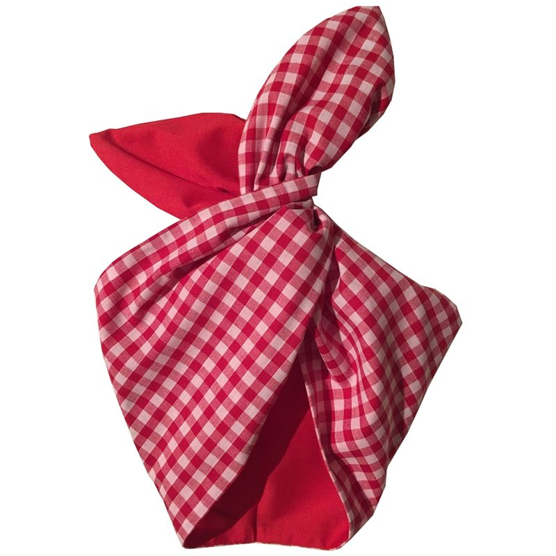 Be Bop a Hairbands Red Gingham Hairband