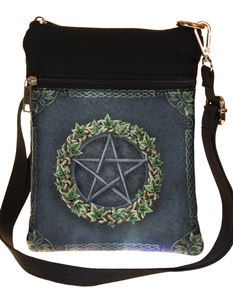 Nemesis Now Ivy Pentagram Alternative Shoulder Bag