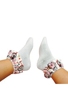 Silly Old Sea Dog Bicycle Socks
