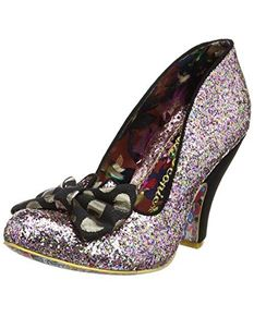 Irregular Choice Nick Of Time Multi Coloured Heel Shoes