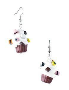 Delphi's Delights Cupcake Liquorice Allsort Earrings