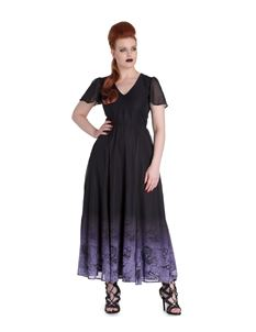 Spin Doctor Evadine Mythical Gothic Maxi Dress