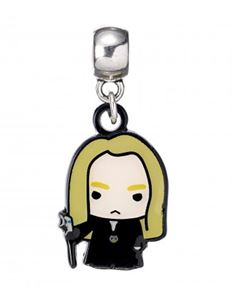 Harry Potter Lucius Malfoy Chibi Silver Plated Charm