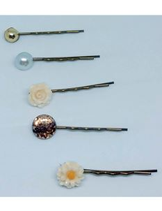 Said Lucy Autumn Hair Clips pack