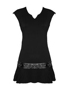 Spiral Direct Gothic Rock Alternative Mini Dress Top