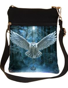 Nemesis Now Awaken Your Magic Owl Bag By Anne Stokes