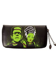 Frankenstein And The Bride Banned Apparel Wallet