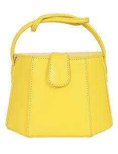 Collectif Felicity 50s Yellow Summer Handbag Bag