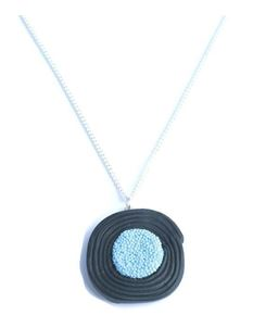 Delphi Delight's Liquorice Wheel Necklace