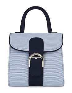 Ruby Shoo Riva Blue Stripe Nautical Shoulder Carry Bag