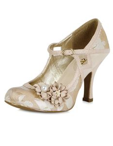 Ruby Shoo Yasmin Metallic Wedding Party Occasion Shoes