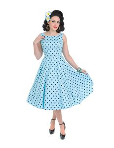 Hearts And Roses Rhiannon Polka Dot Swing Dress
