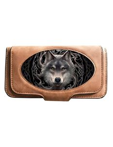 Anne Stokes 3D Night Forest Wolf Purse