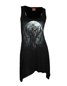 Spiral Direct Vamp Cat Gothic Alternative Dress Top