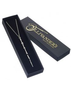 Silver Plated Professor Dumbledore Wand Necklace