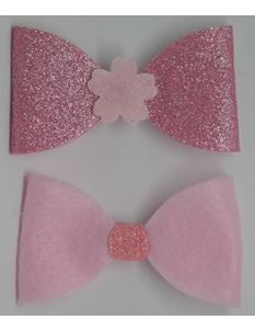 Said Lucy Glitter Pink Bows