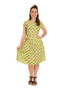 Run & Fly Monkey Tea Dress