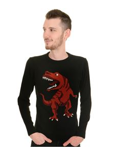 Run & Fly Unisex Dino Roar Jumper