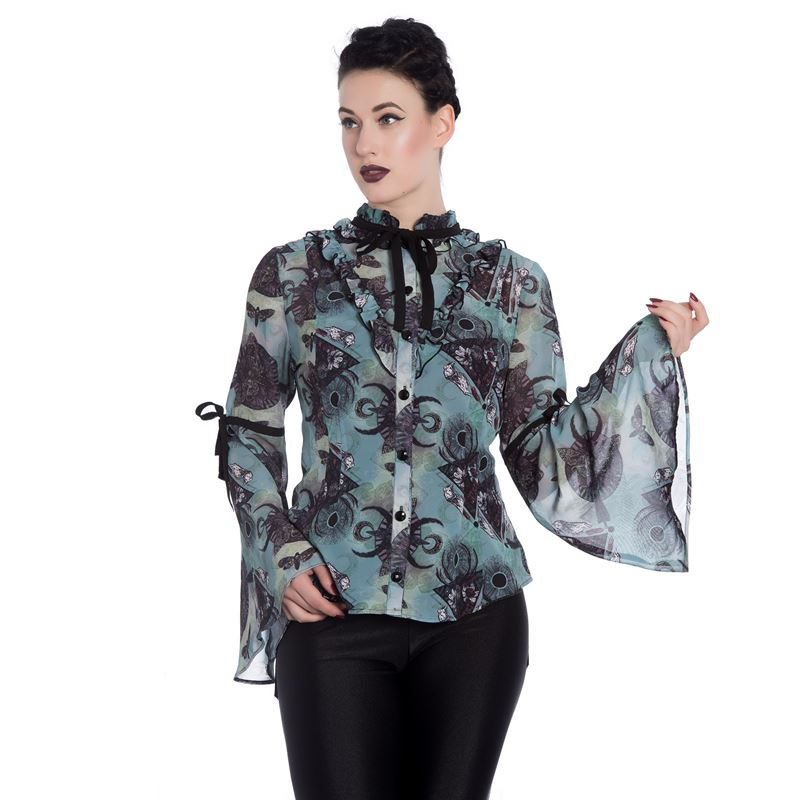 Spin Doctor After Death Alternative Chiffon Blouse