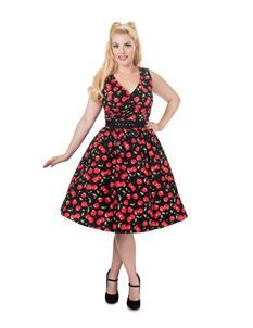 Dolly & Dotty May Cherry 50s Swing Dress 8-24