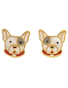 Acorn & Will Frankie French Bulldog Earrings