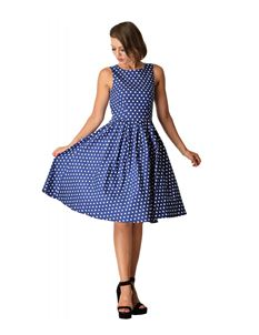 Lola Classic Vintage Dark Blue Sailor Dress