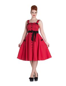 Hell Bunny 50's Martie Polka Dot Dress