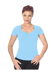 Banned Sweetheart Neckline T-Shirt